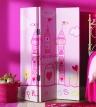 Paravan-decorativ-roz-princess-100cm